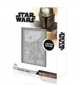 STAR WARS Collector's metal ingot - The Mandalorian & The Child