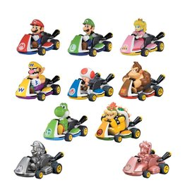 Tomy SUPER MARIO Pullback Vehicle Mystery Pack (1pc) - Mariokart