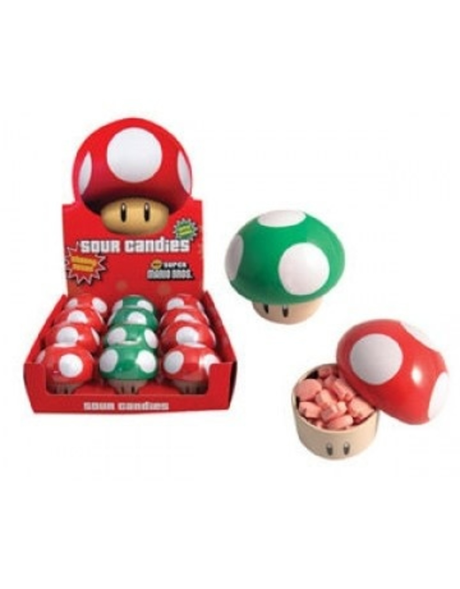 Boston America SUPER MARIO BROS Mushroom Sours