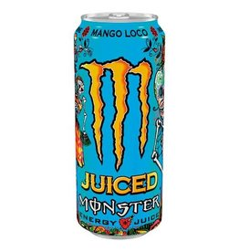 Monster Energy Company MONSTER ENERGY Juice Mango Loco 50cl