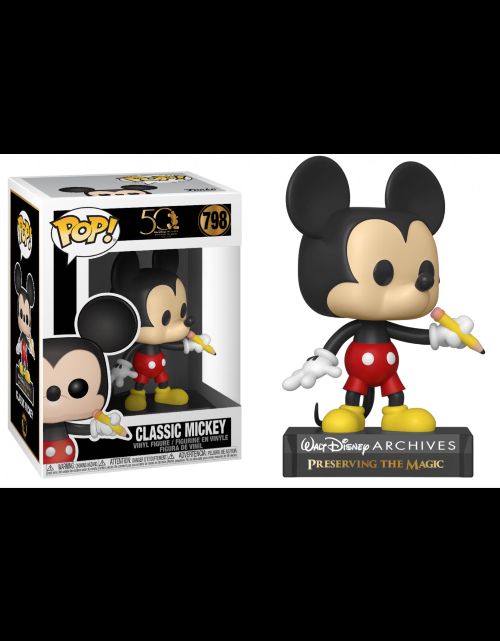 Funko DISNEY POP! N° 798 - Archives - Classic Mickey