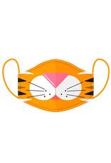 CUTIEMALS Tiger Reusable Face Mask Cover Large