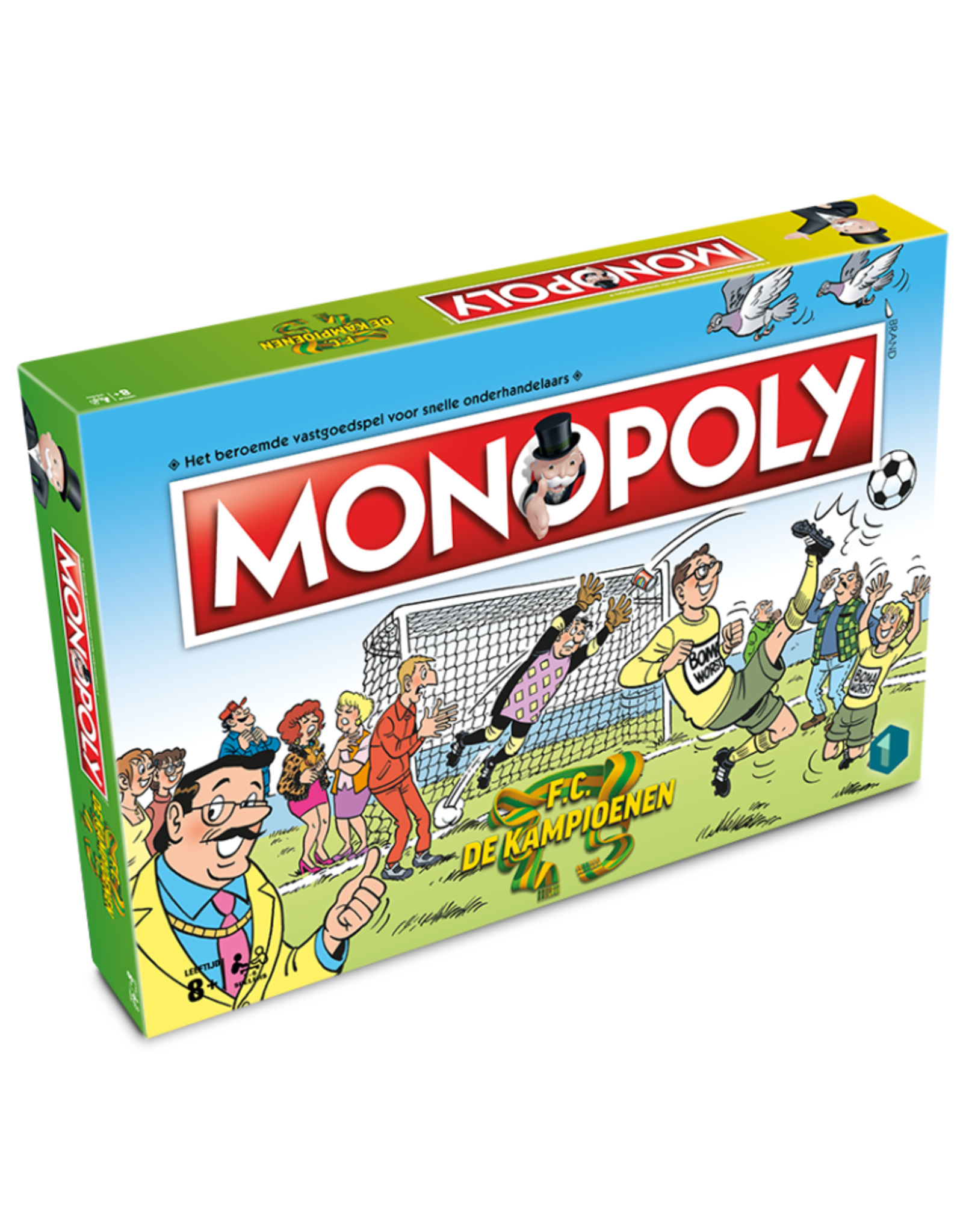 Winning Moves KAMPIOENEN Monopoly (NL)