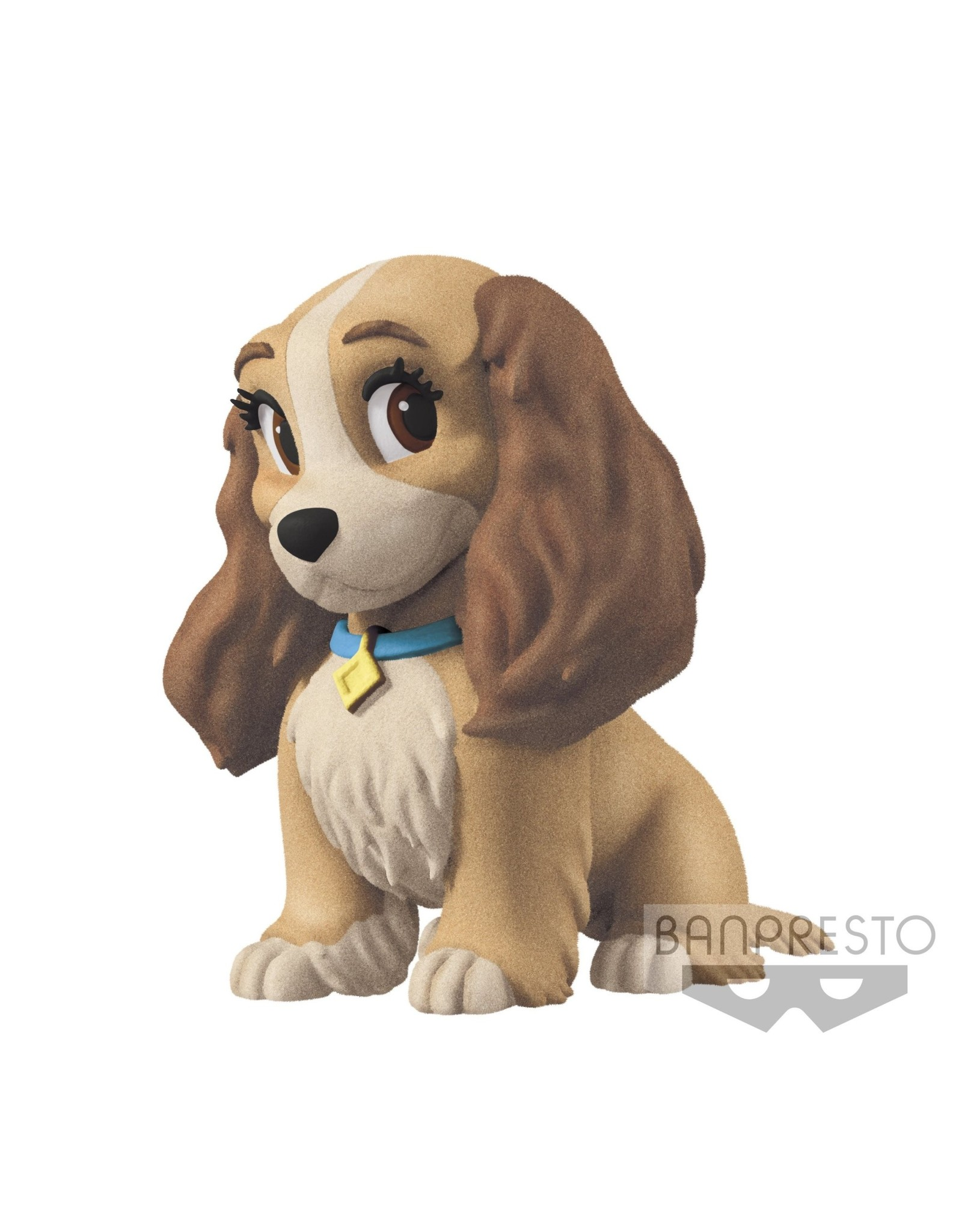 DISNEY - Fluffy Puffy - Lady and the Tramp - Lady - 6.5cm