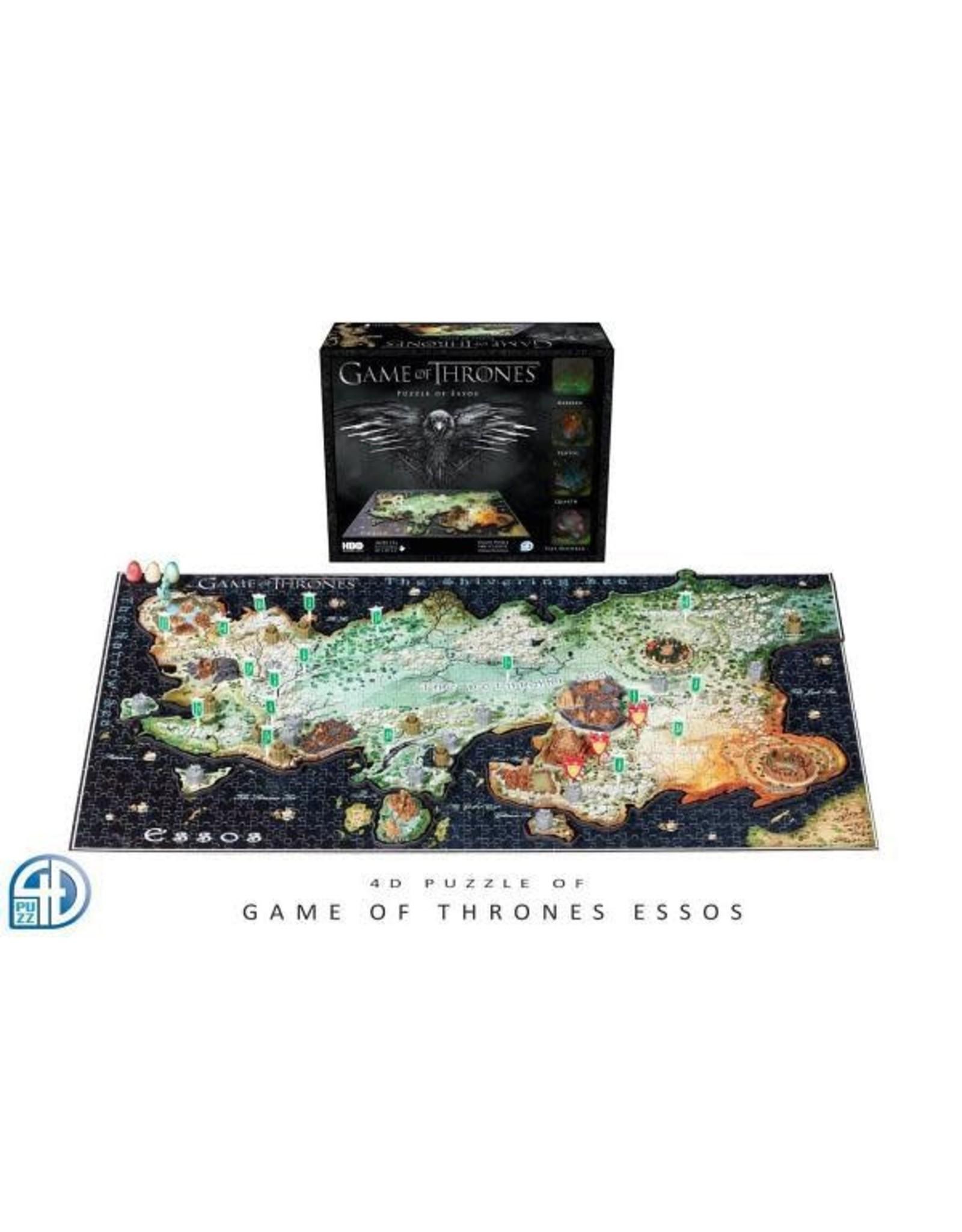GAME OF THRONES 3D Puzzle - Essos Map 1350 Pces