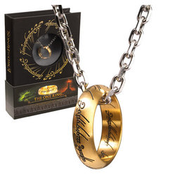 Noble Collection LORD OF THE RINGS Stainless Steel on Chain - The One Ring