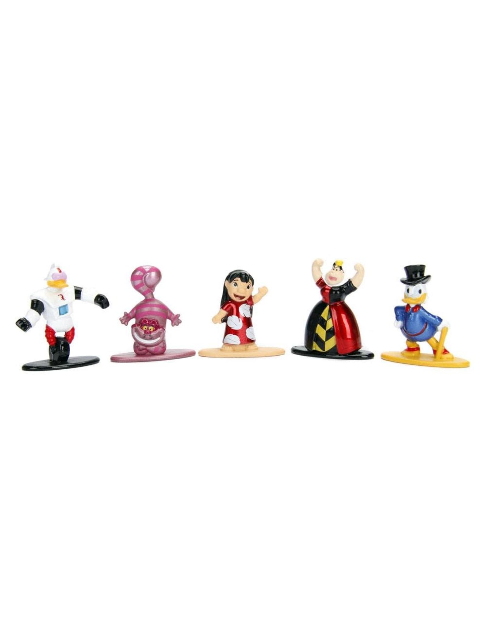 Jada Toys DISNEY Nano Metalfigs Diecast Mini Figures 5-Pack Wave 2 4 cm