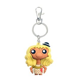 SD Toys E.T. THE EXTRA TERRESTRIAL Pokis Rubber Keychain E.T. Outfit Edition 6 cm