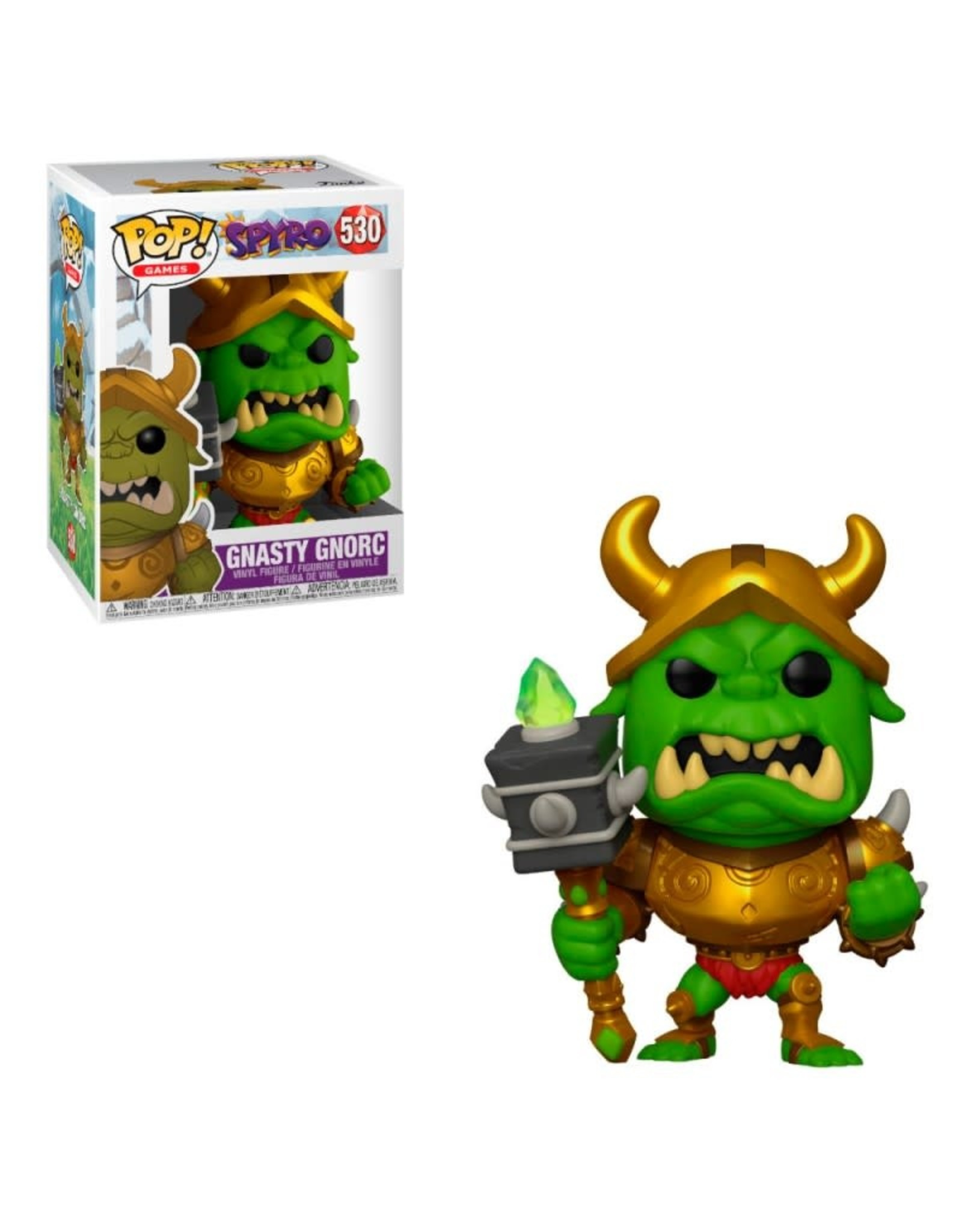 Funko GAMES POP! N° 530 - Spyro - Gnorc