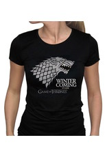 GAME OF THRONES - T-Shirt Winter Is Coming Femme (S)
