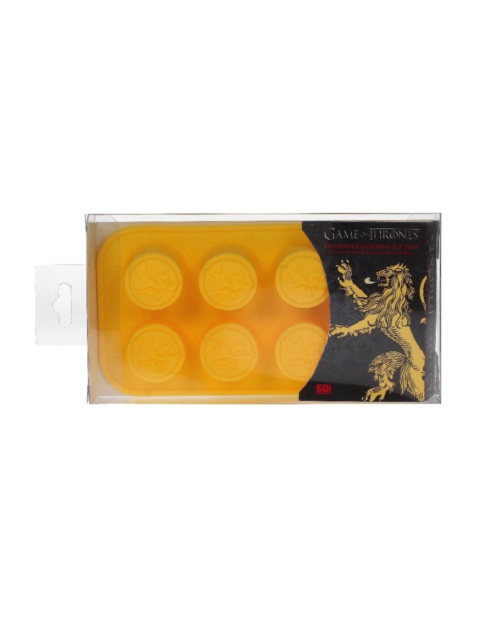 GAME OF THRONES - Silicone Tray / Ice Mould - Lannister Logo