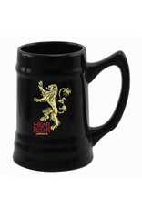 GAME OF THRONES - Beer Stein - Lannister Black Ceramic