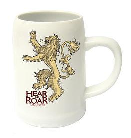 GAME OF THRONES - Beer Stein - Hear Me Roar Lannister Ceramic