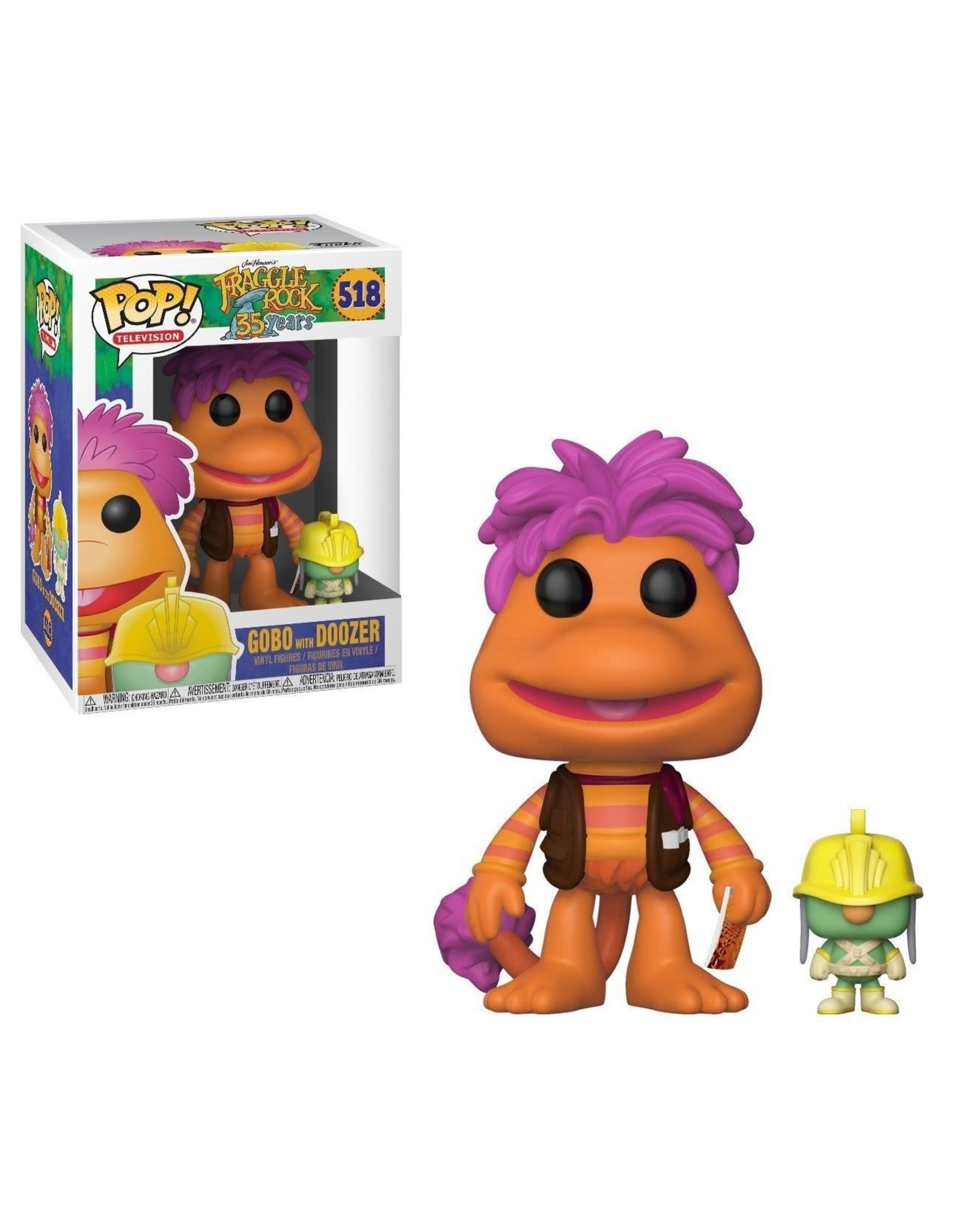 Funko FRAGGLE ROCK POP! N° 518 - Gobo with Doozer