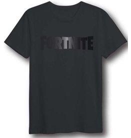 FORTNITE - T-Shirt Foil Logo Black (XL)