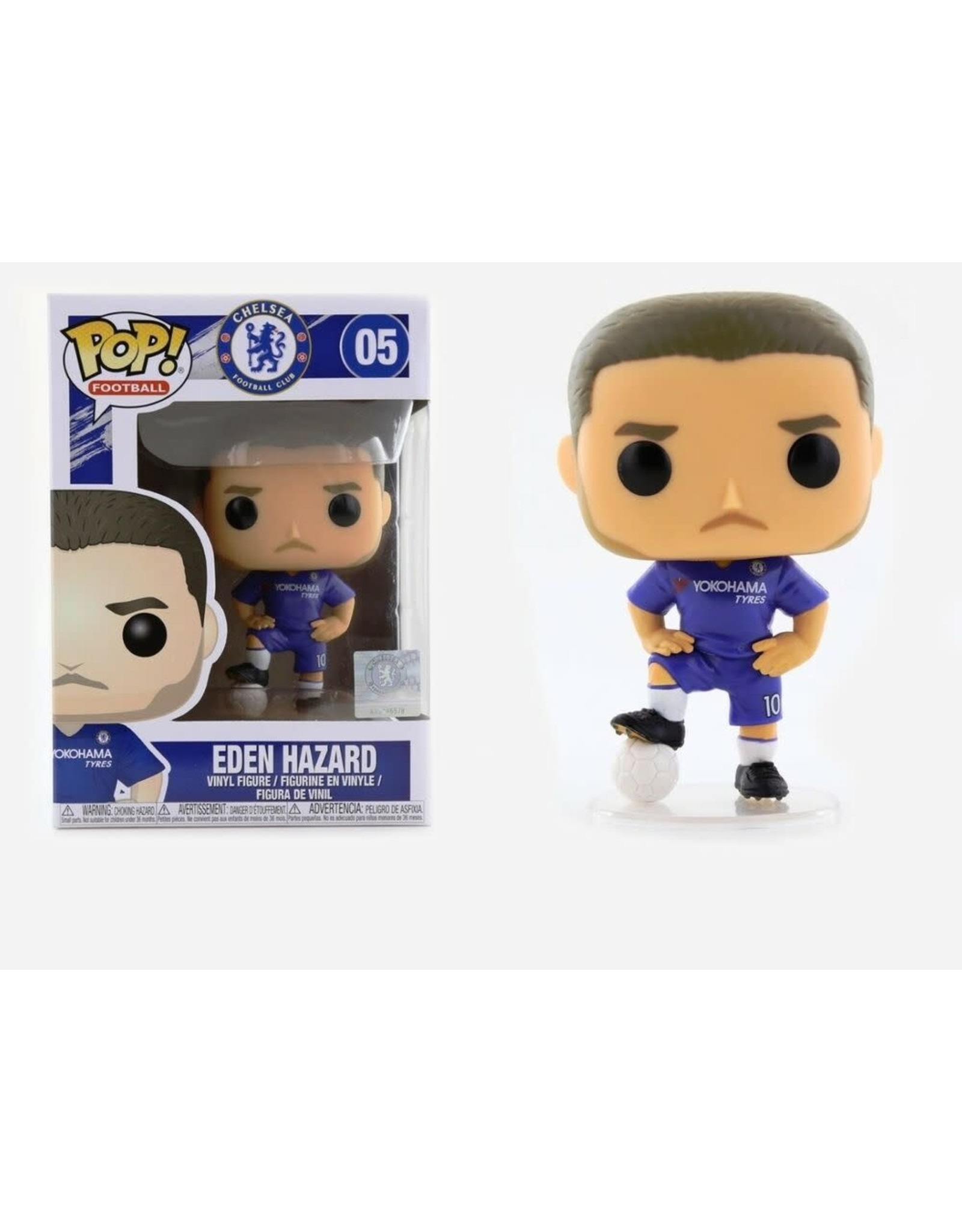 Funko FOOTBALL POP! N° 05 - Eden Hazard 'Chelsea'