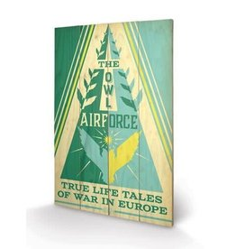 FANTASTIC BEASTS - Wood Print 40X59 - OWL Airforce