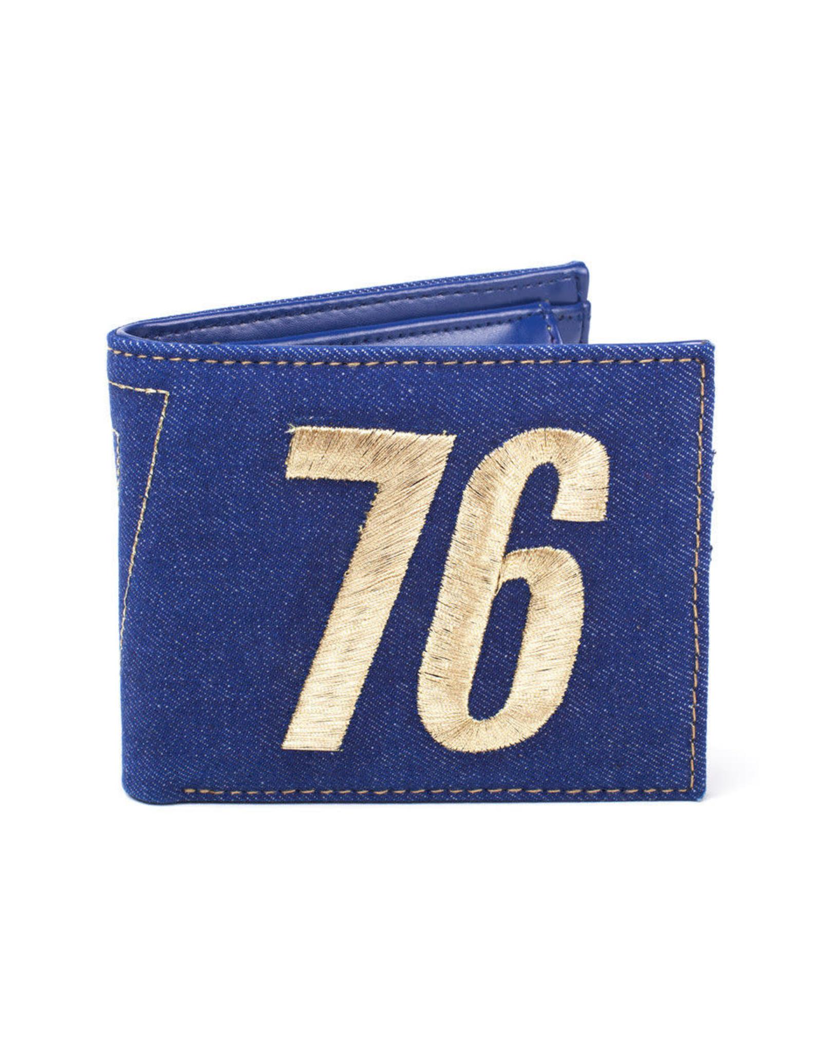 FALLOUT 76 - Vault 76 Vintage Denim Bifold Wallet