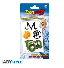 DRAGON BALL Z - Tattoos : Pack of 4 Tattoos
