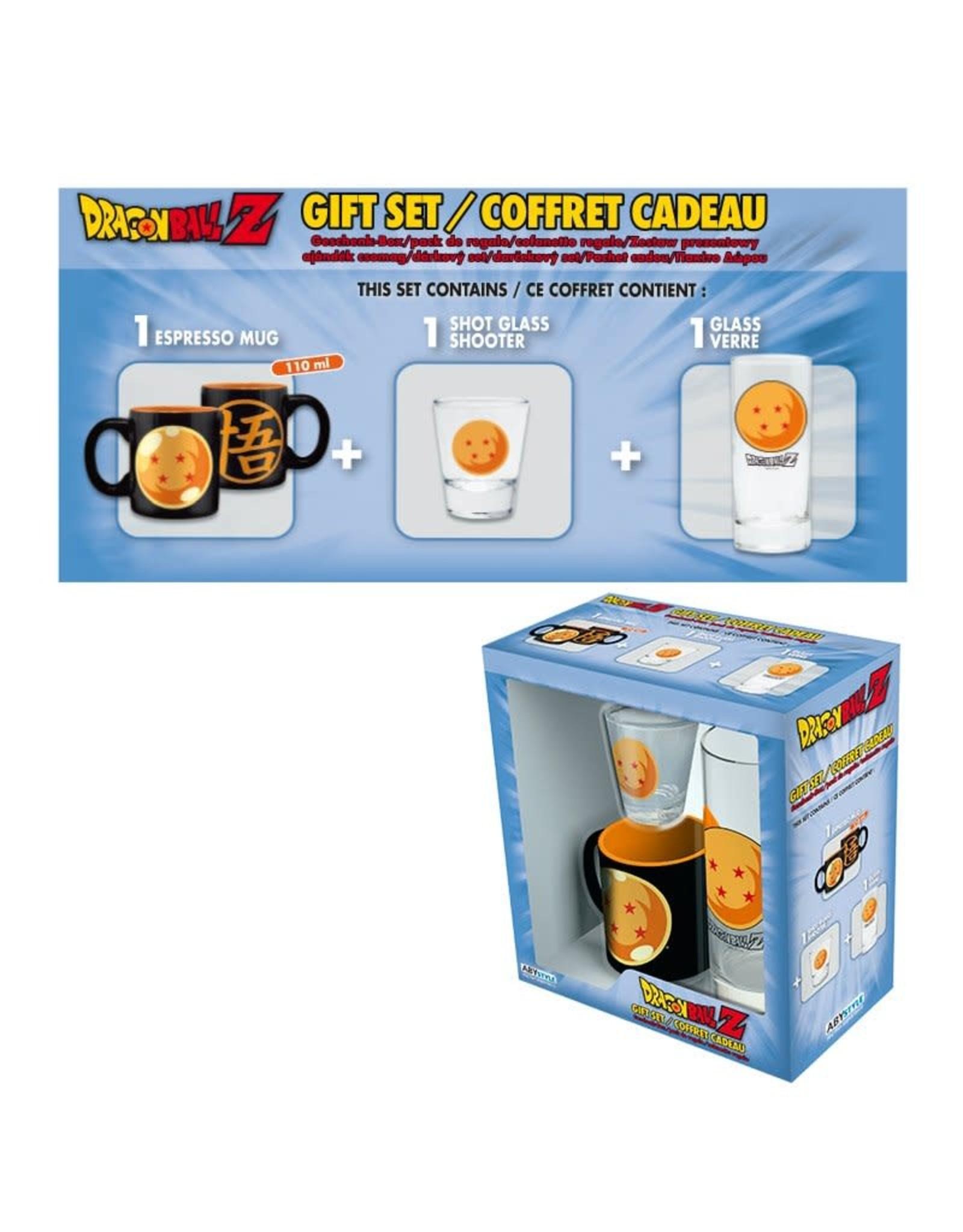 DRAGON BALL Gift Box - Mug + Shooter + Glass