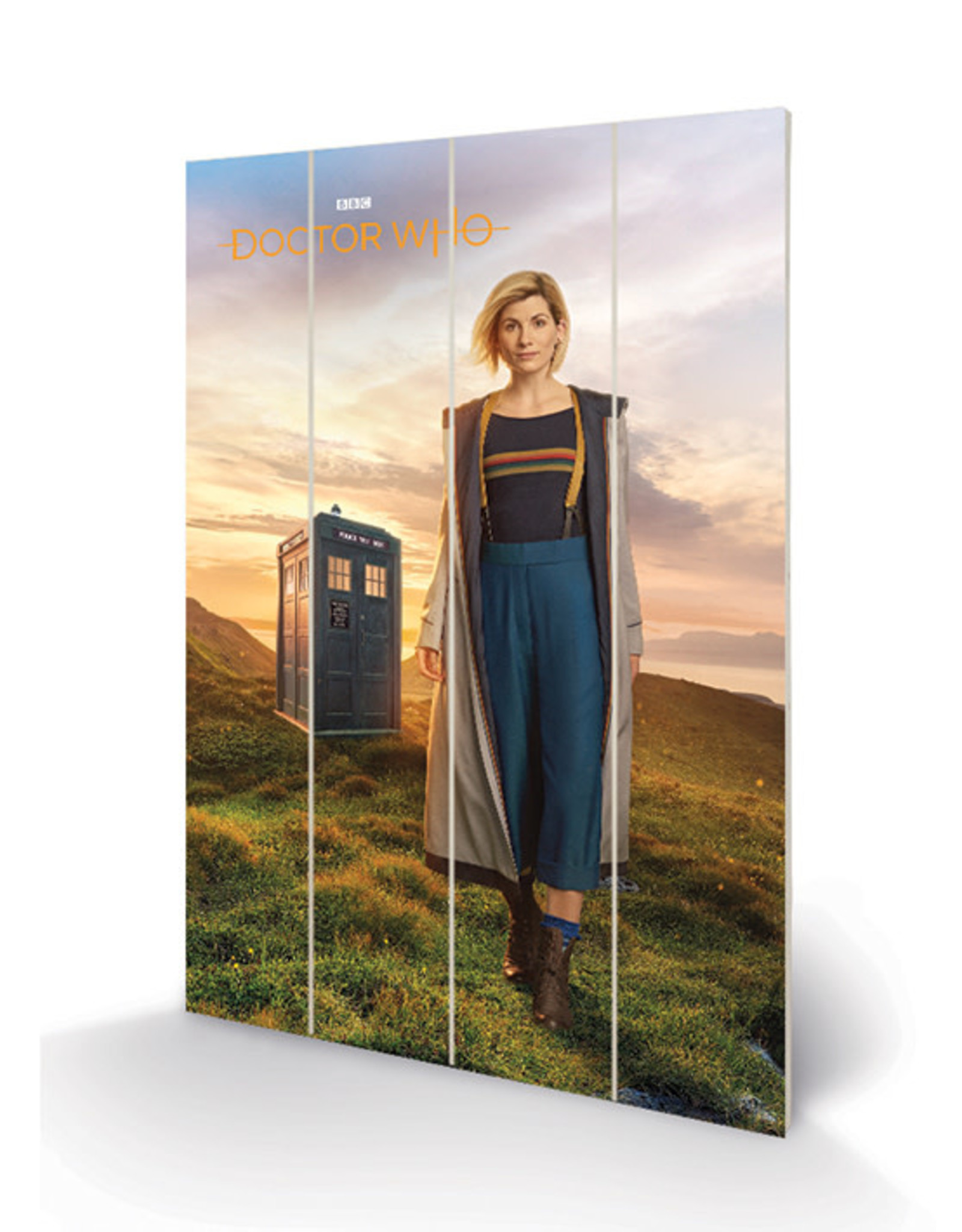 DOCTOR WHO - Wood Print 40X59 - 13th Doctor