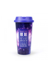 DOCTOR WHO Travel Mug 450ml - Galaxy