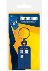 DOCTOR WHO - Rubber Keychain - Tardis Shapes