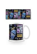 DOCTOR WHO Mug 300 ml - Comic Strip