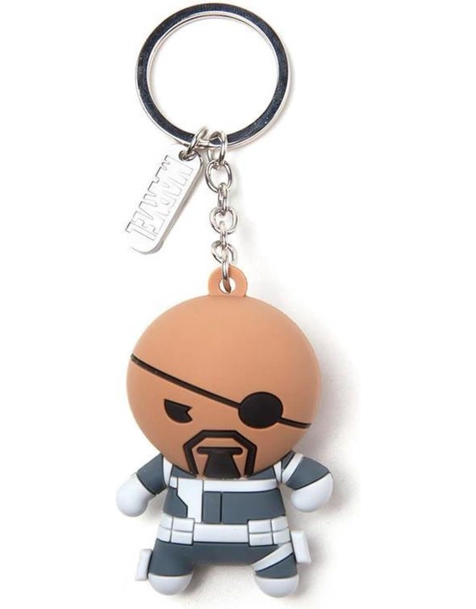 MARVEL - Rubber 3D Keychain - Nick Fury