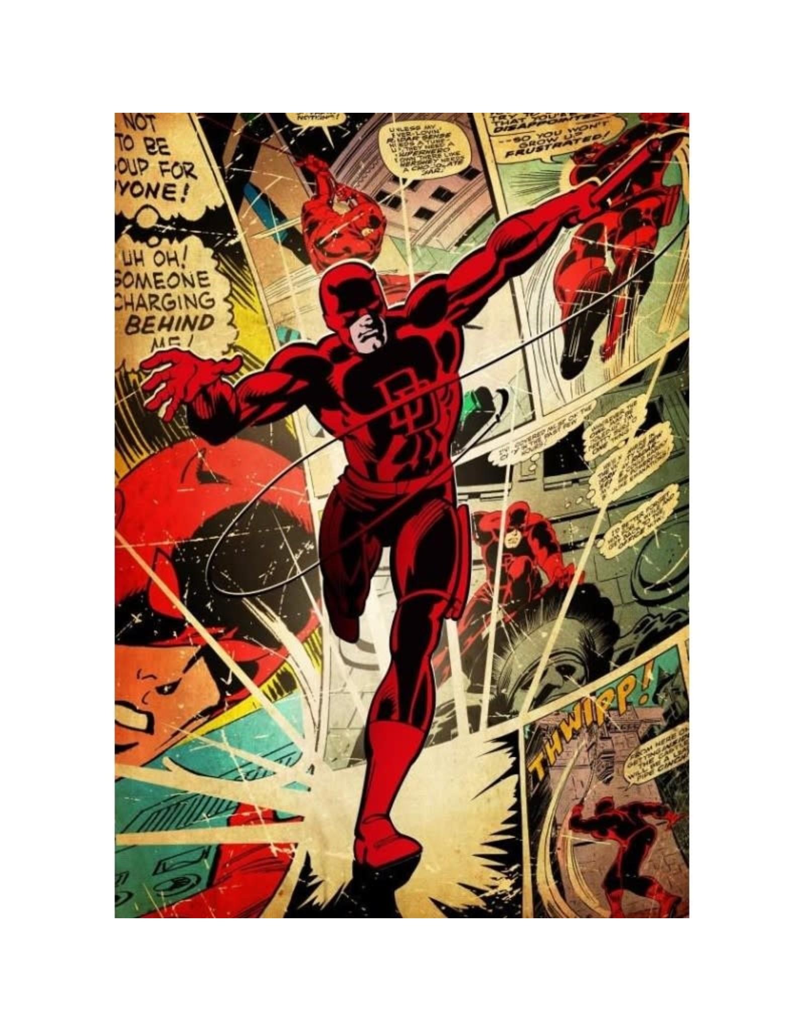 MARVEL SILVER AGE - Magnetic Metal Poster 45x32 - Daredevil