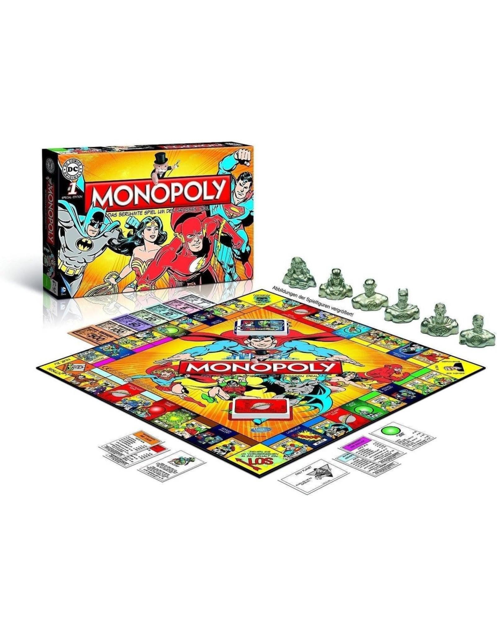 MONOPOLY - DC Comics Retro (UK)