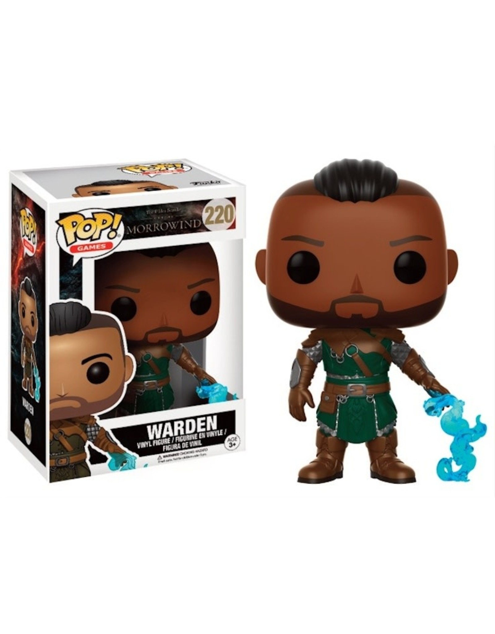 MORROWIND - Bobble Head POP N° 220 - Warden