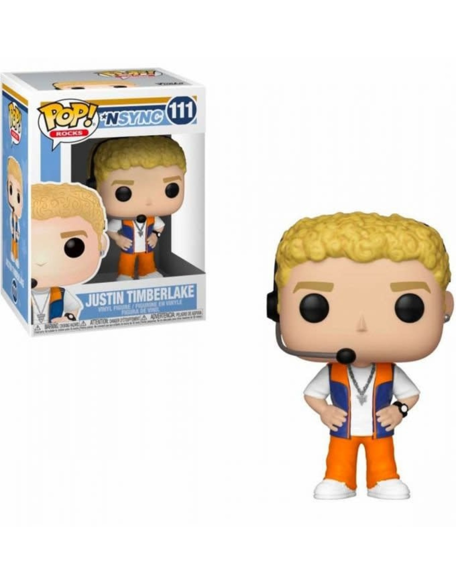 NSYNC POP! Rocks Vinyl Figure Justin Timberlake 9 cm