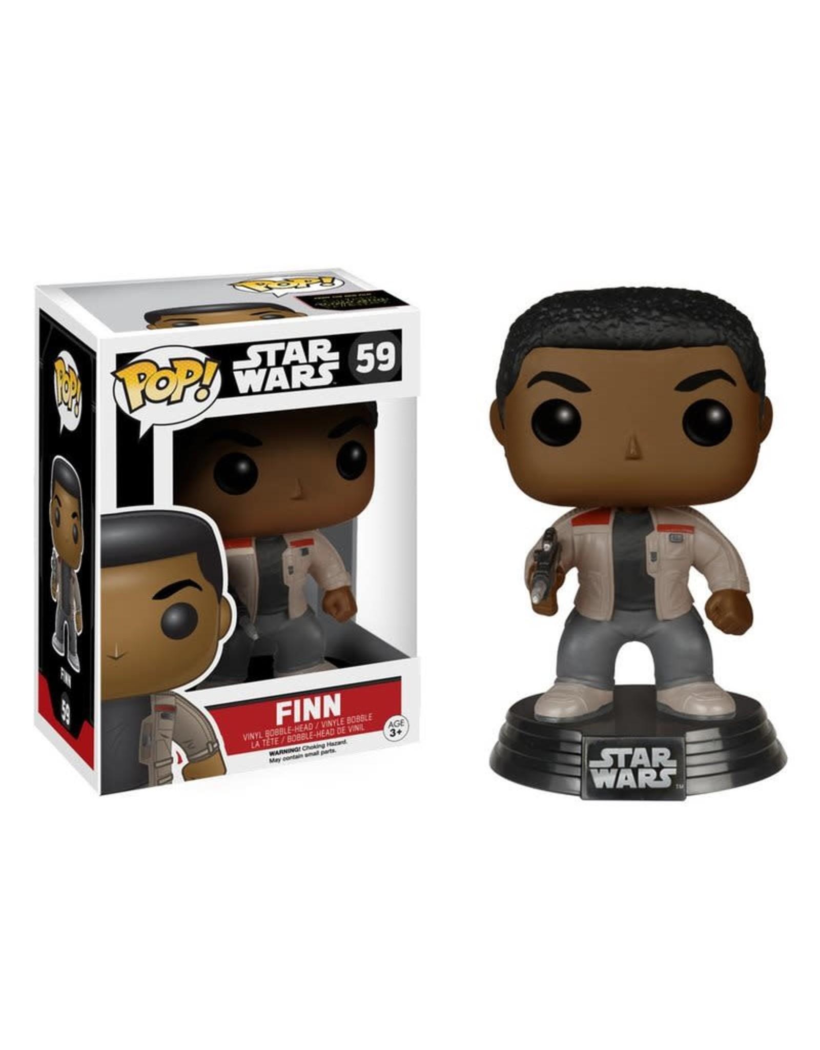 Pop Star Wars Finn