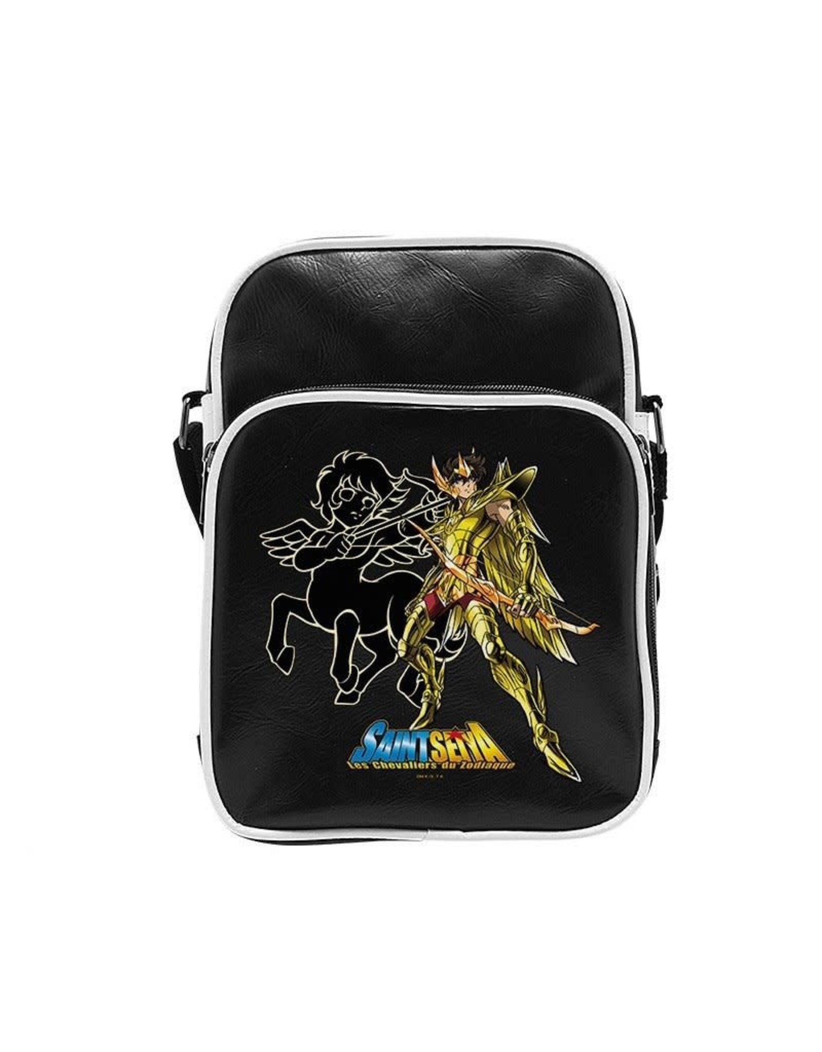 SAINT SEIYA - Messenger Bag Vinyle Sagitarius - Small Size