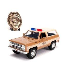 STRANGER THINGS - 1:24 Chief Hopper's 1980 Chevy K5 Blazer