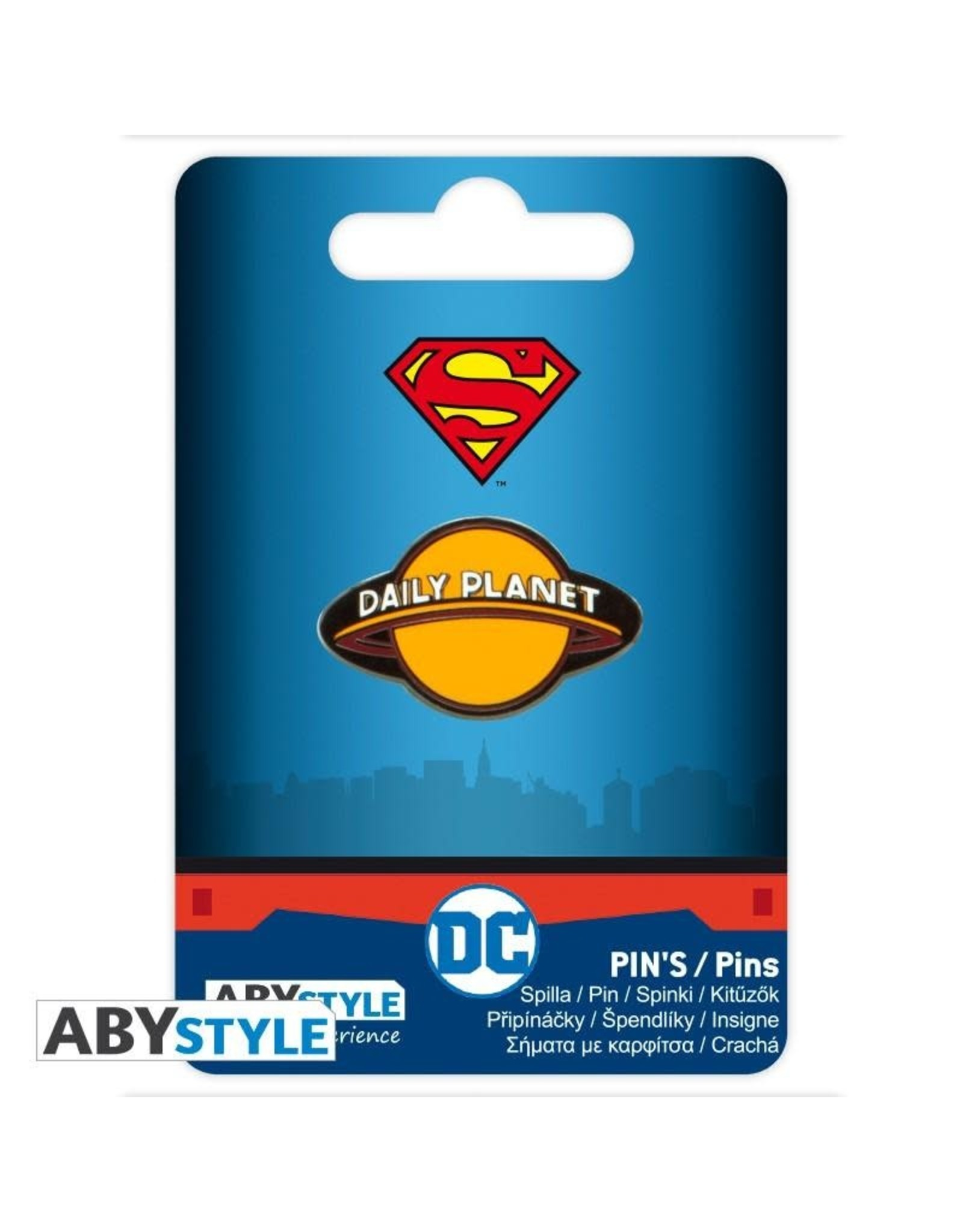 SUPERMAN Pin - Daily Planet