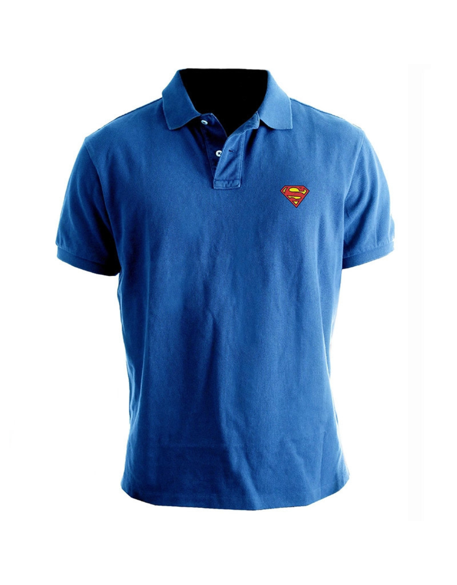 SUPERMAN - Polo - Logo Superman - Cobalt (L)