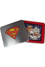 SUPERMAN - TIN BOX - Wallet Jof For Superman