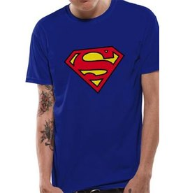 SUPERMAN - T-Shirt IN A TUBE- Logo (L)