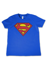 SUPERMAN - T-Shirt KIDS Shield Blue (12 Years)
