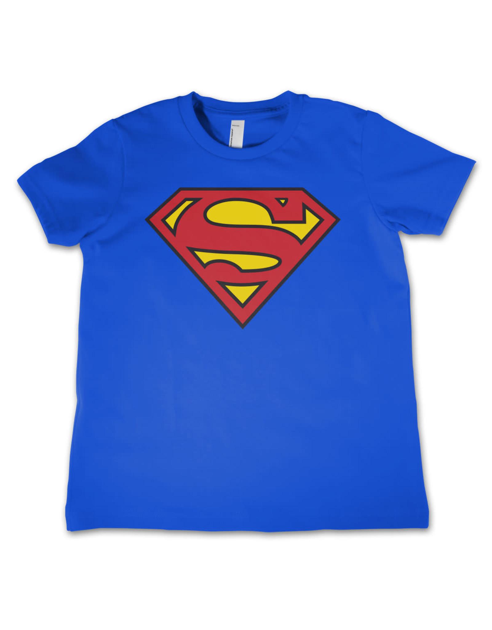 SUPERMAN - T-Shirt KIDS Shield Blue (6 Years)