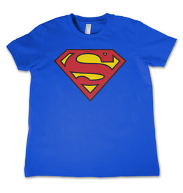 SUPERMAN - T-Shirt KIDS Shield Blue (6 Years)