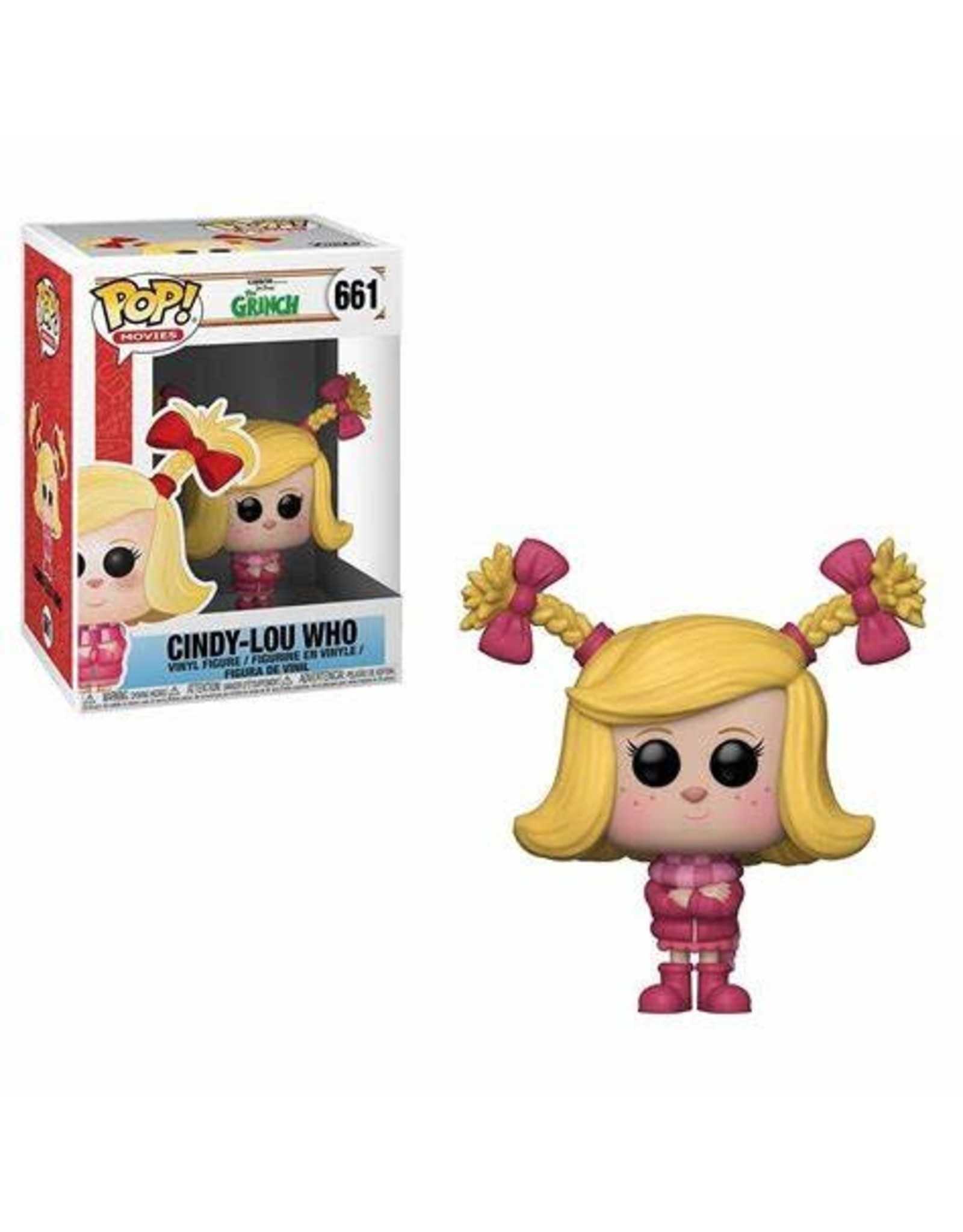 Funko THE GRINCH 2018 POP! N° 661 - Cindy-Lou Who