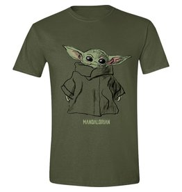 THE MANDALORIAN T-Shirt (M) - The Child Sketch