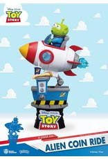 TOY STORY - Alien Coin Ride Diorama - 15cm