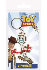 TOY STORY 4 - Rubber Keychain - Forky