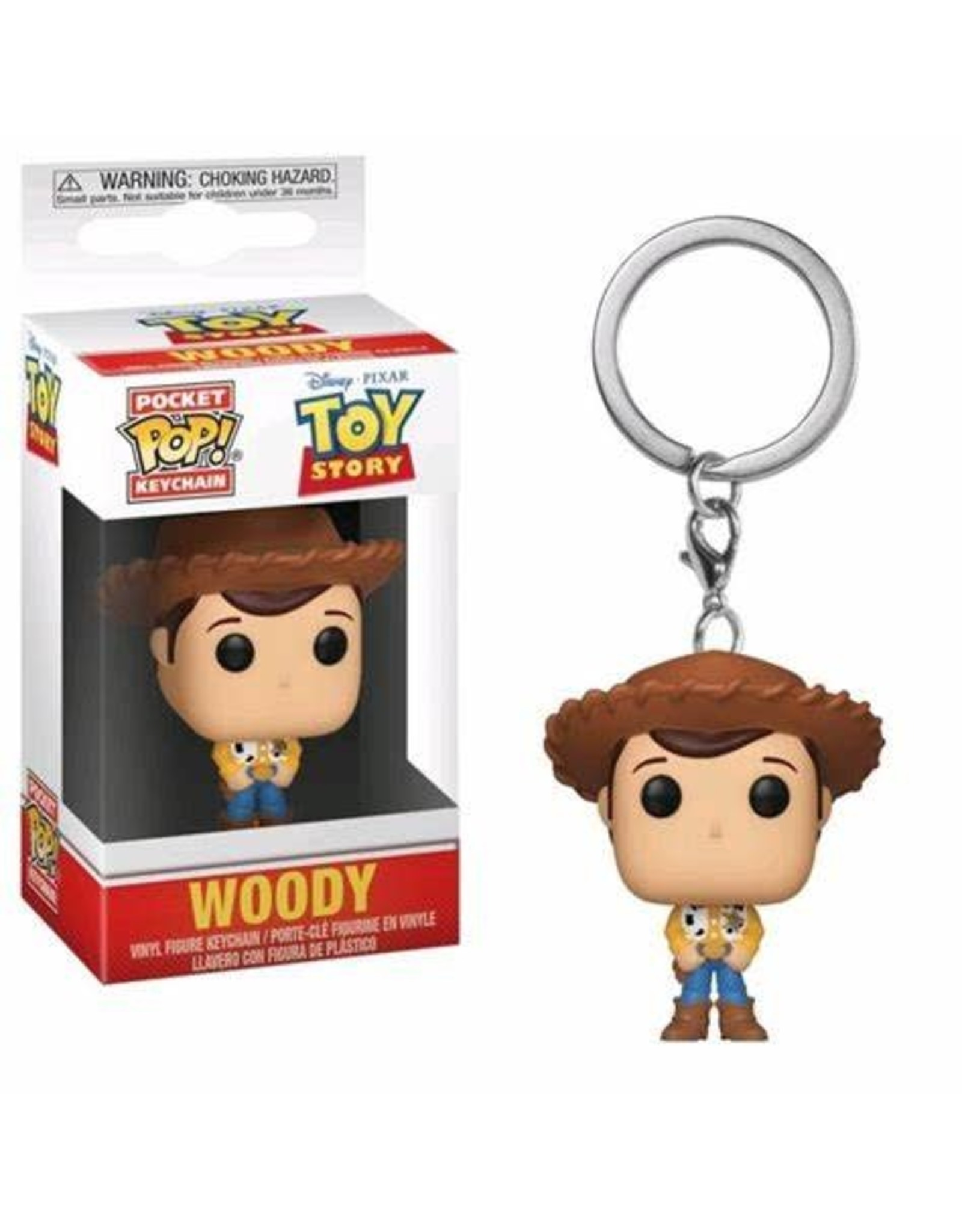 Funko TOY STORY Pocket POP! 4cm - Woody