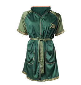 ZELDA - Breath of the Wild Satin Bath Robe - S/M