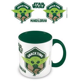 STAR WARS Coloured Inner Mug - Mandalorian Snack Time